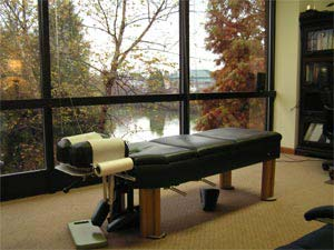 chiropractic adjustment bed in High Point, NC